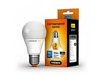 Лампа світлодіодна LED VIDEX A60е 9W E27 4100K 220V (VLA60e09274) ТМVIDEX