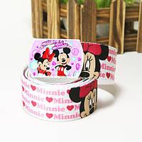 Холстовый ремень для модницы Minnie Mouse №2