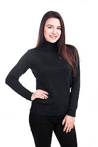 Теплый свитер-голф 5 цветов 44, 46, 48  размеры