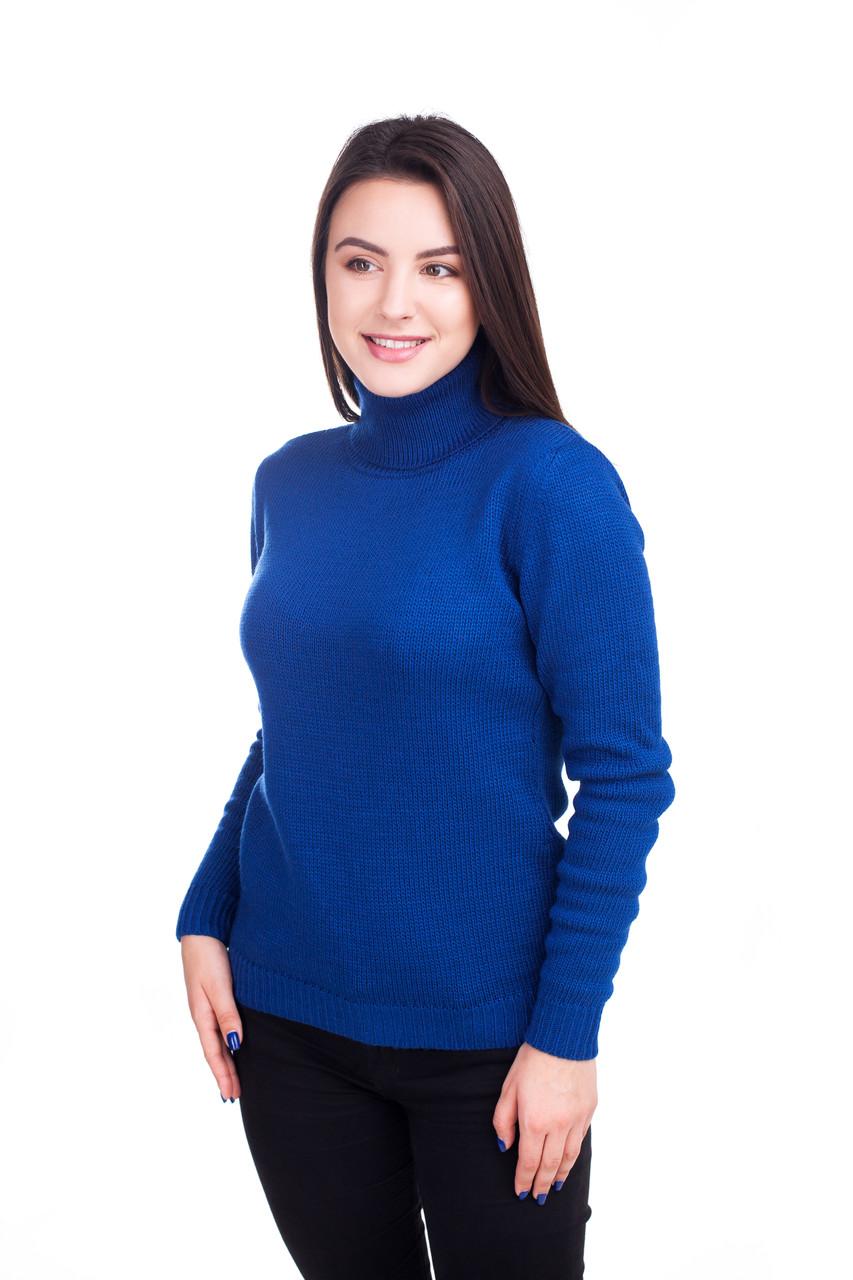 Теплий светр-гольф 5 кольорів 44, 46, 48 розміри