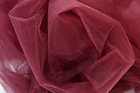 Ткань Фатин средней жесткости Бордо