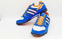 Обувь футбольная сороконожки (р-р 40-45) OB-3385-BLW
