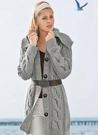 Теплые кофты,туники,свитера больших размеров