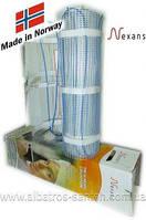 Нагревательные маты  на основе двожильного кабеля Nexans MILLIMAT/150  375W 2,5 m 2