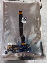 Шлейф (Flat cable) Asus ZenFone 3 MAX (ZC520TL) с разъемом зарядки и микрофоном
