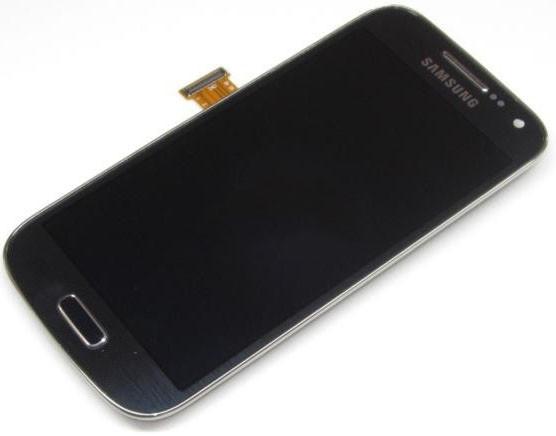Модуль Samsung Galaxy S4 mini I9190, I9192, I9195 Dark gray с рамкой (