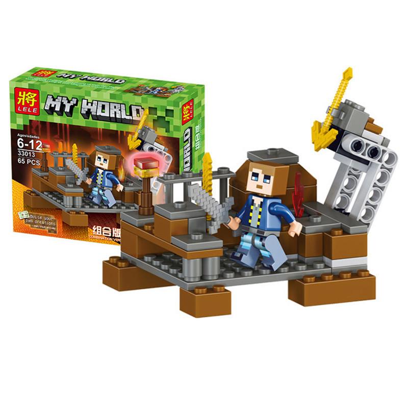 """Конструктор Minecraft - """"Житель с луком"""""""