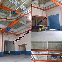 Покраска склада, цеха,ангара, пром помещений 15 грн за м кв. Харьков и область