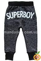 """Брюки теплые для мальчика """"Супербой"""" размер:116(6 лет)"""