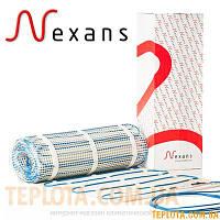 Нагревательные маты  на основе двожильного кабеля Nexans MILLIMAT/150  750W 5,0 m 2