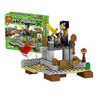 """Конструктор Minecraft - """"Житель с каменным мечем"""""""