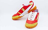 Обувь футбольная сороконожки ZEL OB-90203-RW (р-р 40-45)