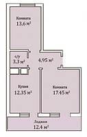 """2 комнатная квартира 66,8 метра ЖК """"Мелодия"""", Одесса, фото 1"""