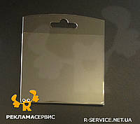 Цінник навісний під євро гачок 80х70 (Акрил)