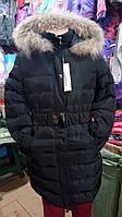 Куртка пальто зима для девочки подростка рост 158-170