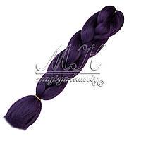 Канекалон для кос, фиолетовый