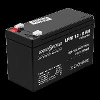 Свинцово-кислотный аккумулятор батарея LogicPower AGM LPM 12V - 8.0 AH
