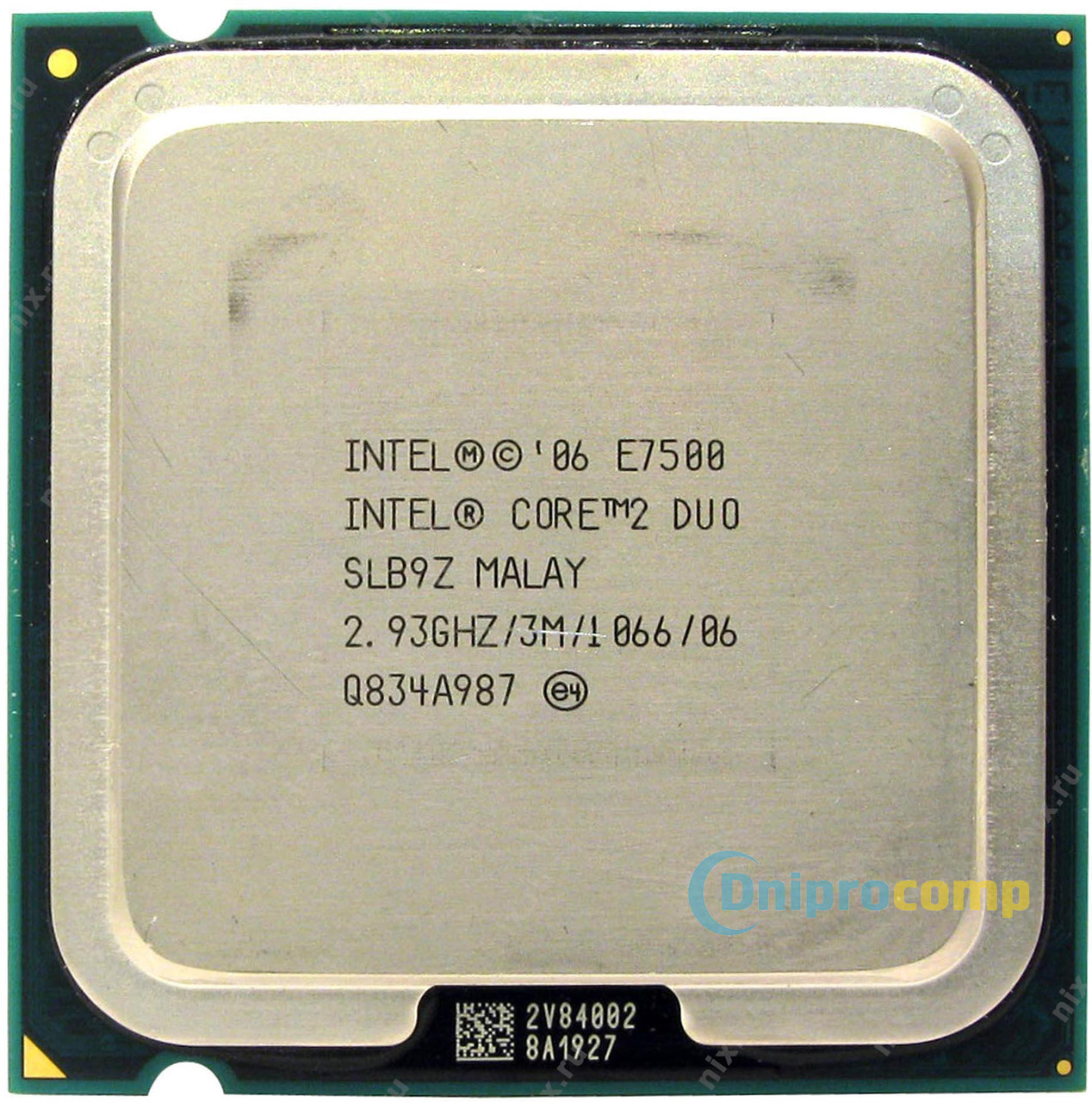Core2Duo E7500 2.93 GHz/3M/1066MHz