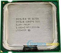 Core2Duo E6750 2.66 GHz/4M/1333MHz