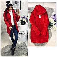 Куртка зима, модель  212, красный