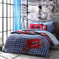 Подростковое постельное белье TAC Speedway синее
