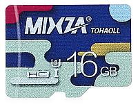 Карта памяти MIXZA TOHAOLL Colorful Series 16GB Micro SD UHS - 1 class