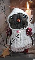 Игрушка зомби снеговик.