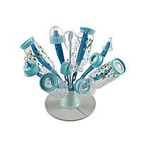 "Beaba - Складная сушка для бутылок ""Цветочек"", blue"