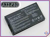Аккумулятор ASUS 90-NVD1B1000Y, A32-F52, A32-F82, CS-AUF82NB, iB-A145, iB-A145H, L0690L6, L0A2016, TOP-K50, F82L696 (11.1V 4400mAh) Black.