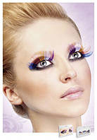 Реснички Multi-colored Glitter eyelashes