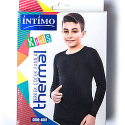 Термокофта подростковая для мальчика 11-12 лет Intimo Турция 4081