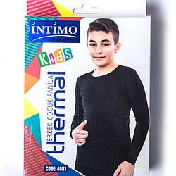Термокофта подростковая для мальчика лет Intimo Турция 4081