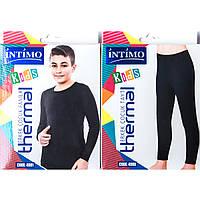 Термокомплект подростковый для мальчика: кофта и кальсоны Intimo Турция 4081_4080