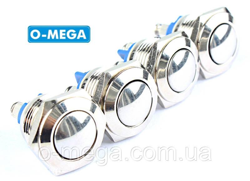 Кнопка металлическая сферическая (1НО) TY16-231A Scr