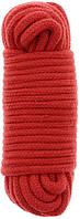 Бондажная веревка BONDX LOVE ROPE - 10M RED, фото 1