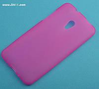 Чехол силиконовый для HTC Desire 700 pink
