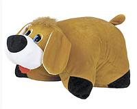 Мягкая игрушка подушка-трансформер Собака
