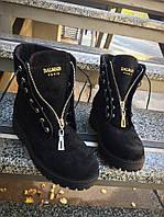 Зимние женские ботинки в стиле Bai)ain