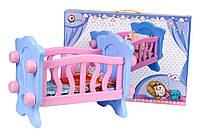 Игрушка Кроватка для куклы ТехноК, арт. 4166