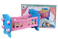 Игрушка Кроватка для куклы ТехноК, коробка арт. 4173