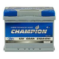 Аккумулятор 60 Ah, 12V Champion Euro (0)