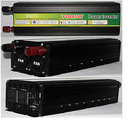 Преобразователь с зарядкой POWER INVERTER 7000 W + UPS 12 V/220, Инвертор, преобразователь, автомобильный инвертор