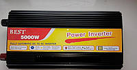 Преобразователь напряжения + зарядка 5000 W inverter with charger 12 V/220, Инвертор, преобразователь, автомобильный инвертор
