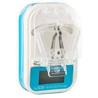 Зарядное устройство Mobiking для заряда Li-Ion аккумуляторов Economic LCD with USB (55205)