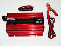 Преобразователь тока AC/DC UKC 500W KC-500D с LCD дисплеем, Инвертор, преобразователь, автомобильный инвертор