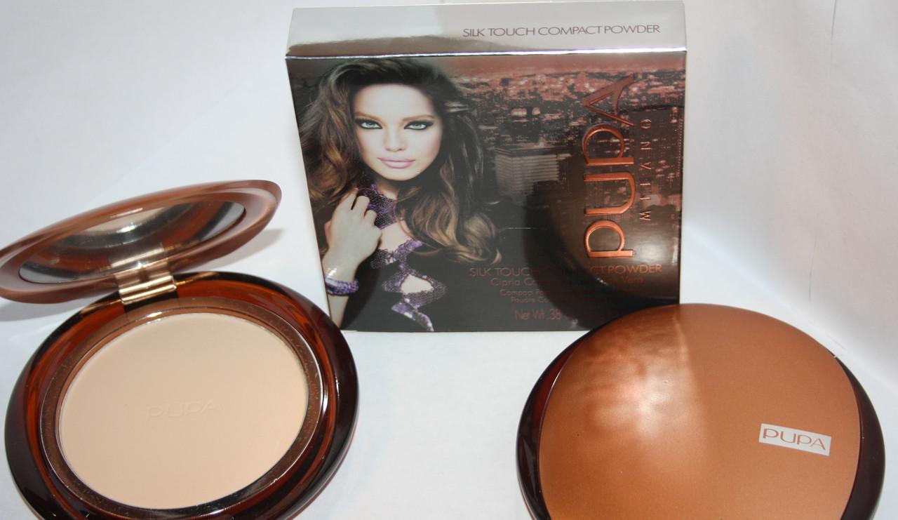 Пудра Pupa Silk Touch Compact Powder