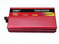 Преобразователь UKC 12V-220V 3000W, Инвертор, преобразователь, автомобильный инвертор