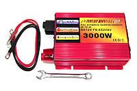 Преобразователь POWER INVERTER 3000 W + UPS 12 V/220, Инвертор, преобразователь, автомобильный инвертор