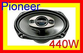 Автомобильные колонки, акустика Pioneer TS-A6983S 440Вт, Акустика, колонки, автоколонки