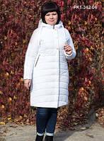 Зимнее пальто из плащевой ткани на синтепоне р.р 50-60 (есть цвета)